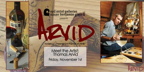 Meet the Artist: Thomas Arvid tickets