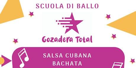 Lezioni di prova gratuite salsa cubana/bachata zona Subaugusta biglietti