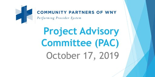 Fall Project Advisory Committee (PAC) meeting