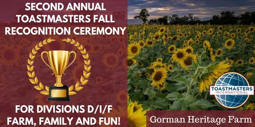Fall Recognition Ceremony  for Divisions D/I/F - Farm, Family and Fun!