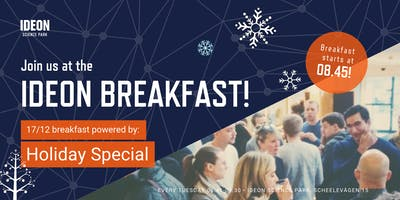 Ideon Breakfast - Holiday Special!