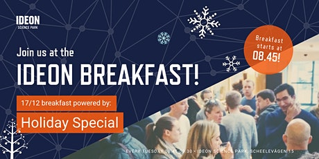 Ideon Breakfast - Holiday Special! tickets