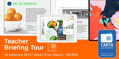 Teacher Briefing Tour - Istituto Oriani Mazzini Milano