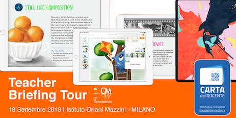 Teacher Briefing Tour - Istituto Oriani Mazzini Milano tickets