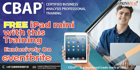 CBAP® Certification Training in Sydney tickets