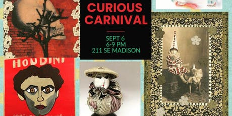 Curious Carnival Art Exhibit and Open Studios tickets