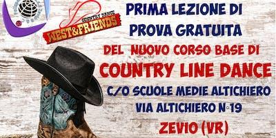 LEZIONE DI PROVA GRATUITA A ZEVIO (VR) - COUNTRY LINE DANCE