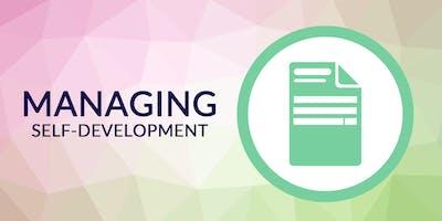 Super Admin Series   Managing Self-Development