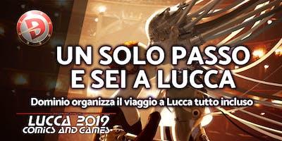 LuccaComics 2019: il viaggio di Dominio