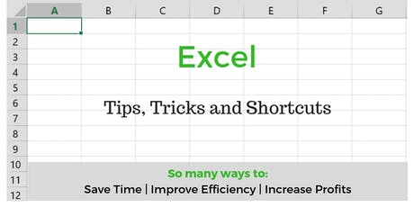 Excel - Tips, Tricks and Shortcuts tickets