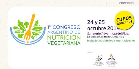 1º Congreso Argentino de Nutrición Vegetariana entradas