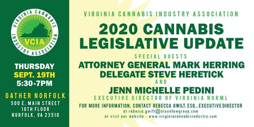 2020 Cannabis Legislative Update and Preview (Norfolk Preview!)