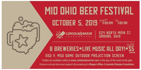 Annual Mid Ohio Beer Fest tickets