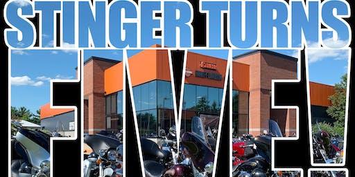 Stinger Turns 5 Bike Night