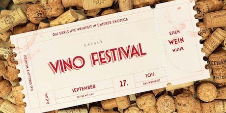 EATALY VINO FESTIVAL | ENOTECA | Essen, Wein, Musik Tickets