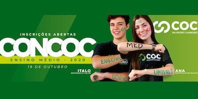 CONCURSO DE BOLSA - ENSINO MÉDIO 2020                  COC BALNEÁRIO