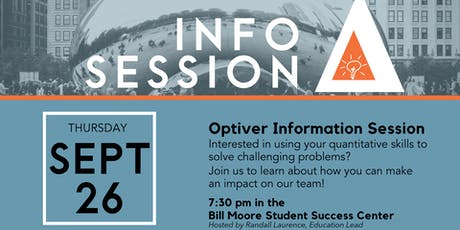 Optiver Information Session  tickets