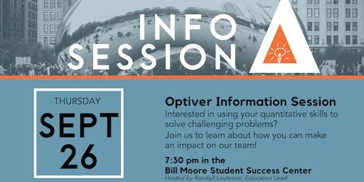Optiver Information Session