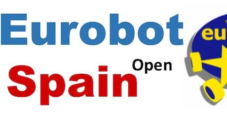 Charal informativa Eurobot y Eurobot Jr para centros educativos entradas