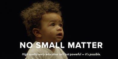 No Small Matter Documentary -- Lake County Screening
