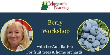 Berry Workshop tickets