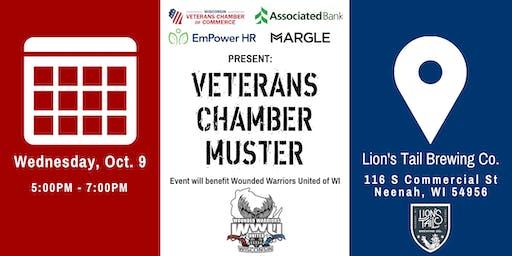 Veterans Chamber Muster- Neenah, WI
