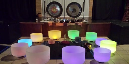 Crystal Bowls and Gong Meditation with Diamond and Mark