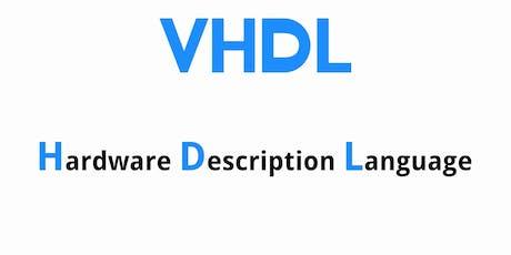 Introduzione al Digital Logic Design in VHDL tickets