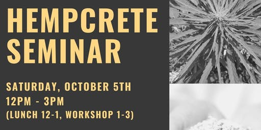 Hempcrete Workshop Session 2