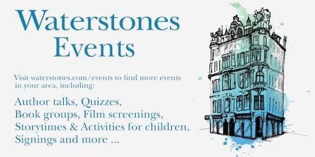 Meet Tom Fletcher at Waterstones Bluewater tickets
