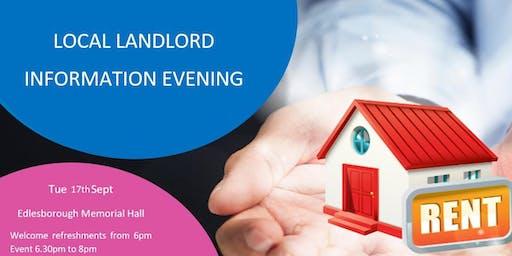 Local Landlord Information Evening