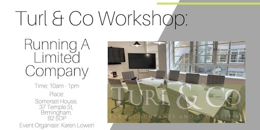 Running A Limited Company Workshop.