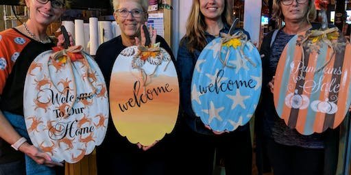Pumpkin Time Paint Night- HYC 091719
