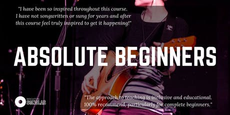Absolute Beginners 2.0: Songwriting in a nutshell tickets