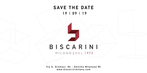 SAVE THE DATE - Biscarini Milano