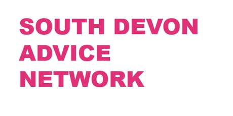South Devon Advice Network - 26th Sept tickets