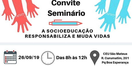 I Seminário medida sócio educativa  tickets