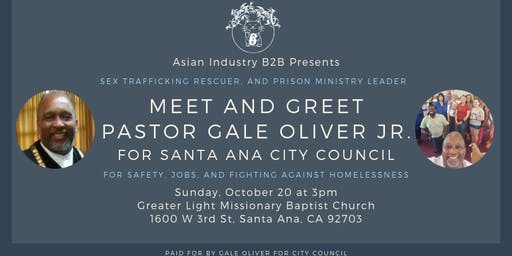 AIB2B Invites You To Meet Gale Oliver for Santa Ana City Council