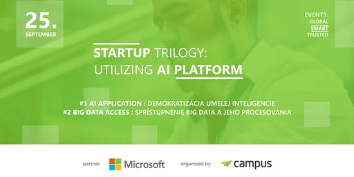 Startup Trilogy: Utilizing AI Platform