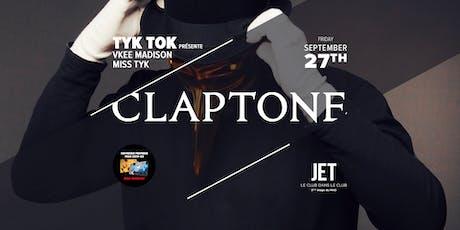 CLAPTONE (DE) tickets