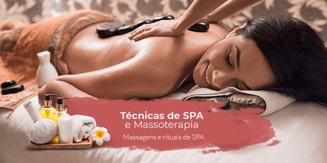 Técnicas de SPA e Massoterapia - Massagens e Rituais de SPA ingressos