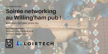 Soirée networking au Willing'ham pub ! billets