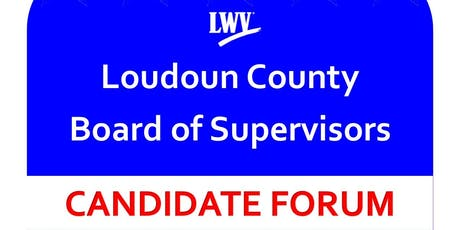 LWVLC Board of Supervisors Forum tickets
