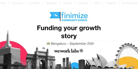 #FinimizeCommunity: Funding your growth story tickets