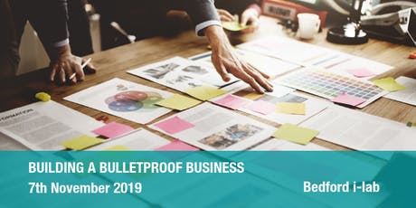 Building a Bulletproof Business tickets