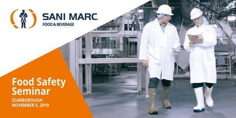 Ontario- Food Safety Seminar hosted by Sani Marc tickets