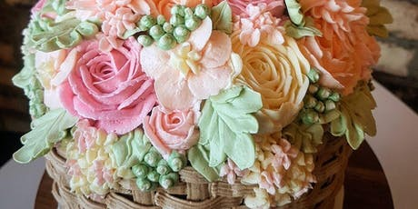 Buttercream Floral Cake Design Advanced- October 8 tickets