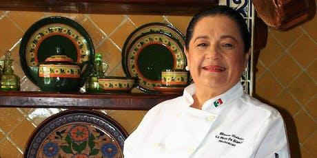 Conferencia de cocina prehispánica por Blanca Vidales entradas