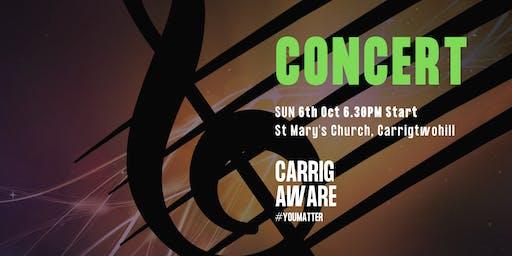 Carrig Aware - Mental Health Awareness Week Concert