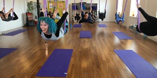 Pop Up Class: Aerial Yoga